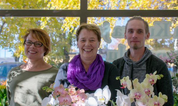 kukkakauppa orivedellä henkilökunta